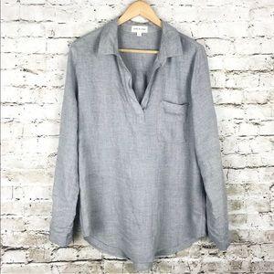 Anthropologie cloth & stone v neck blouse